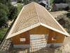Landwirtschaftliche Einstellhalle Satteldach