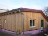 Riegelbau Holzriegel Holzfassade