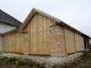Gartenhütte Holzfassade