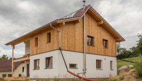 Einfamilienhaus Holzriegel Wartberg