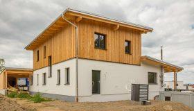 Einfamilienhaus Holzriegel Hagenberg