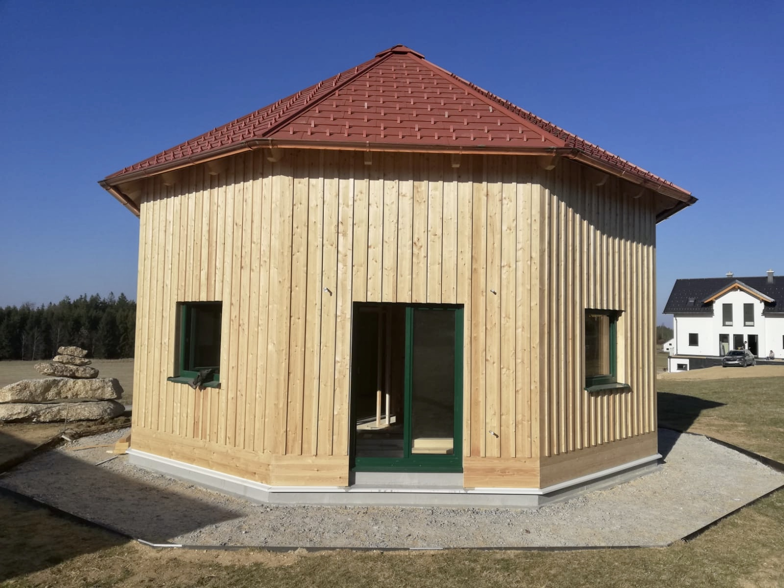 9-Eck Holzhaus