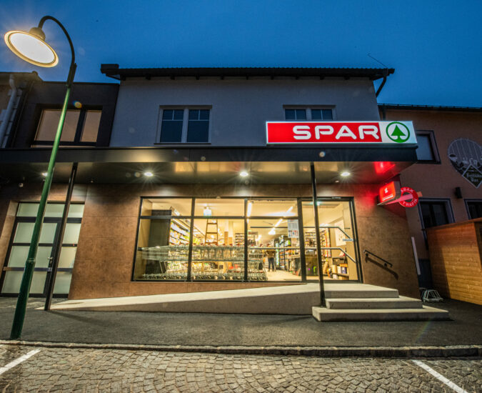 Sanierung Spar in Gutau